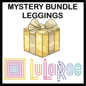 3 LuLaRoe LEGGINGS BUNDLE OS OR TC LEGGINGS